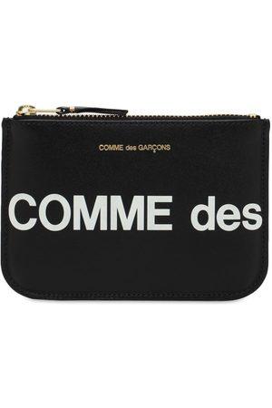 Comme des Garçons Huge Logo Leather Wallet