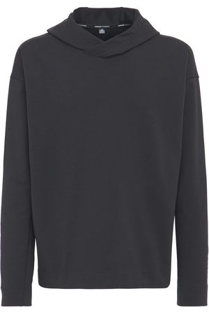 adidas Yoga Coverup Cotton Blend Sweatshirt
