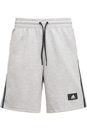 adidas Men Sports Shorts - Future Icon 3s Cotton Blend Sweat Shorts