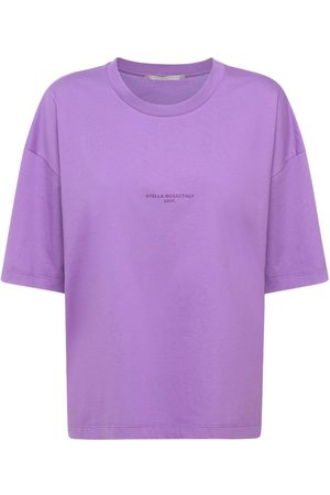 Stella McCartney Logo Cotton T-shirt
