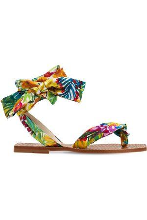 Christian Louboutin 10mm Niloofar Satin Thong Sandals