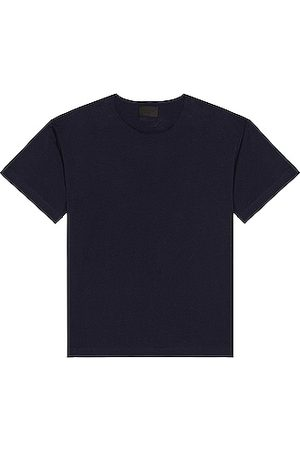 FEAR OF GOD Men T-shirts - Cut Neck Tee in Navy