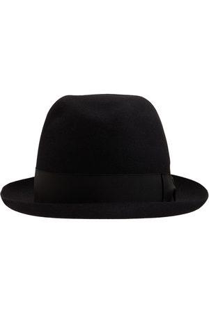 Borsalino Alessandria Felt Hat W/satin Hatband