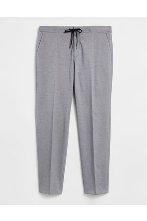 HUGO BOSS Business Banks elasticated waist trousers