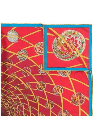 Hermès Scarves - 1990s pre-owned Les Feux de L'Espace scarf
