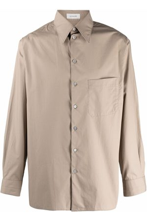 LEMAIRE Men Long Sleeve - Chest-pocket shirt