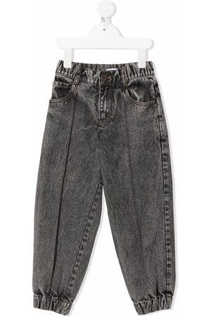 Brunello Cucinelli Girls Straight - Acid-wash straight jeans
