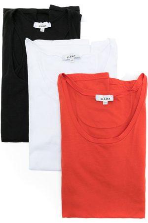 AMIR SLAMA Three-pack tops