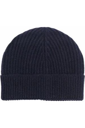 Maison Margiela Ribbed-knit tonal beanie