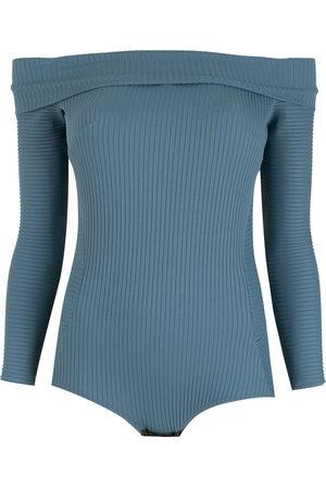 AMIR SLAMA Women Bodysuits - Off-shoulder bodysuit