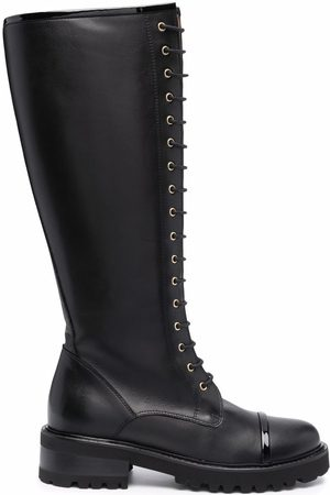 MALONE SOULIERS Women Lace-up Boots - Bryn lace-up leather boots
