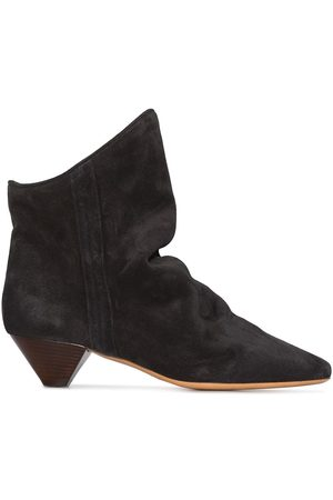 Isabel Marant Women Boots - ISABEL DOEY 40 SUE SLIP ON ANKL BOOT