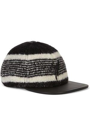Giuseppe Zanotti Men Hats - Cohen logo-plaque baseball cap