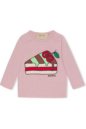 Gucci Cake-print logo sweatshirt