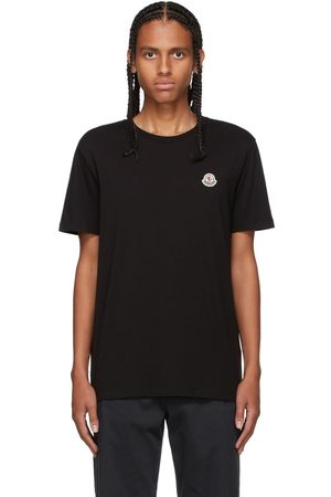 Moncler Three-Pack Multicolor Logo T-Shirt