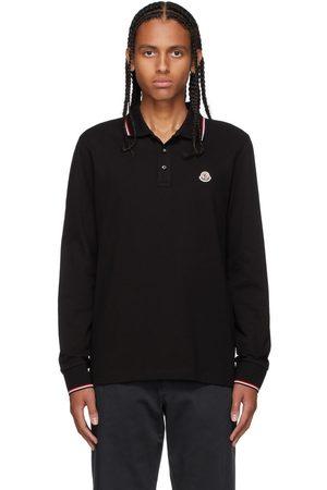 Moncler Tricolor Long Sleeve Polo