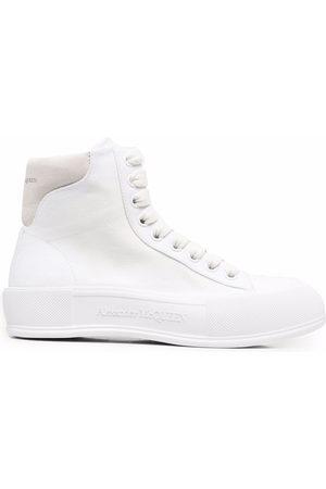 Alexander McQueen Women Sneakers - High-top Deck sneakers
