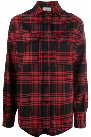 P.a.r.o.s.h. Plaid-check shirt