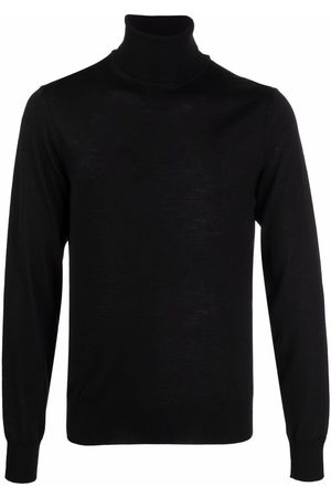 Emporio Armani Roll neck knitted jumper