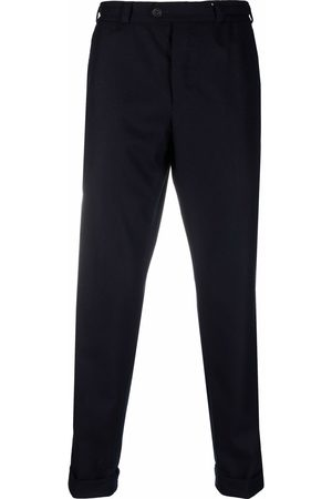 PT01 Men Formal Trousers - Tapered wool trousers