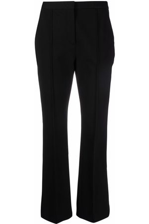 Aspesi Women Slim Trousers - Piped-trim slim trousers