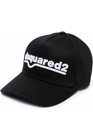 Dsquared2 Logo-embroidered cotton cap