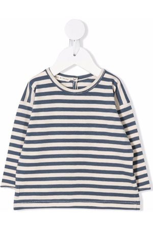 Babe And Tess Striped long-sleeved T-shirt