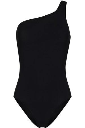 Isabel Marant Sage one-shoulder cut-out swimsuit