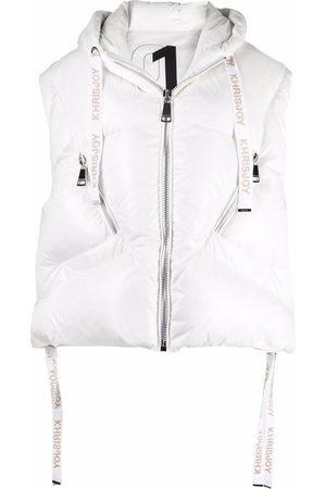 Khrisjoy Shiny puffer vest