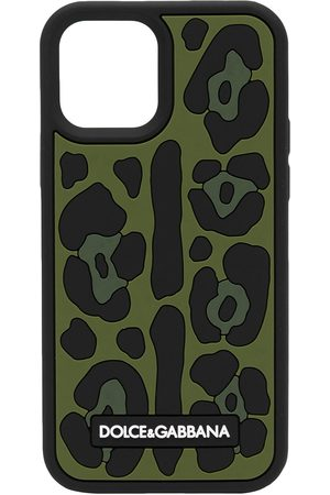 Dolce & Gabbana Men Phone Cases - Animal-print Iphone 12 Pro Max case