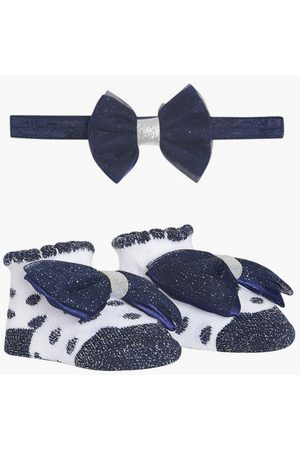 MINI KLUB Girls Hair Accessories - FS Girls Bow Accent Booties with Hairband
