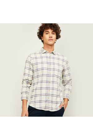 Forca Men Checked Regular Fit Casual Shirt