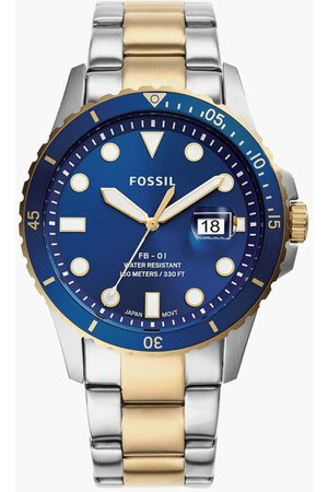 Fossil Men Two-Tone Stainless Steel Analog Watch- FS5742I