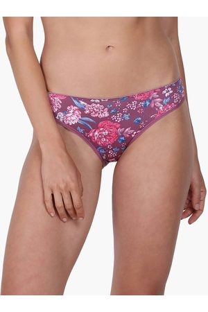 ENAMORA Women Hipsters - Floral Printed Hipster Panty