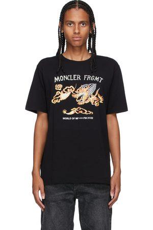 Moncler Genius 7 Moncler FRGMT Hiroshi Fujiwara Graphic Dragon T-Shirt