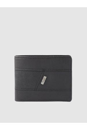 Baggit Men Black Solid Two Fold Wallet