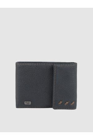 Baggit Men Blue Solid Two Fold Wallet