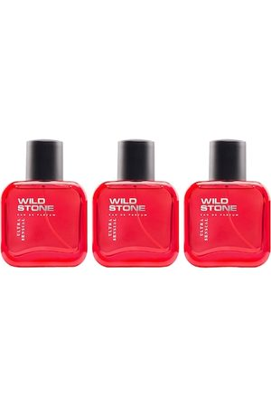 Wild stone Men Fragrances - Men Pack Of 3 Hydra Energy Perfume 50 ml