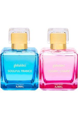 Global Desi Women Set Of 2 Soulful Trance EDP & Cosmic Charm EDP Perfume Crafted By Ajmal