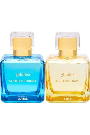 Global Desi Women Sets - Women Set Of 2 Soulful Trance EDP & Dreamy Daze EDP Perfume Crafted By Ajmal