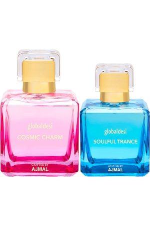 Global Desi Women Set Of 2 Cosmic Charm EDP & Soulful Trance EDP Perfume Crafted By Ajmal