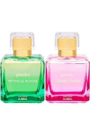 Global Desi Women Set Of 2 Mythical Bloom EDP & Cosmic Charm EDP Perfume Crafted By Ajmal