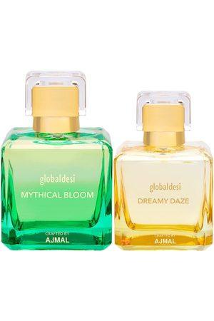 Global Desi Women Set Of 2 Mythical Bloom EDP & Dreamy Daze EDP Perfume Crafted By Ajmal