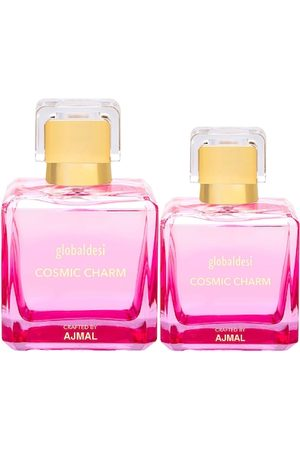 Global Desi Women Set Of 2 Cosmic Charm EDP Perfume Crafted By Ajmal