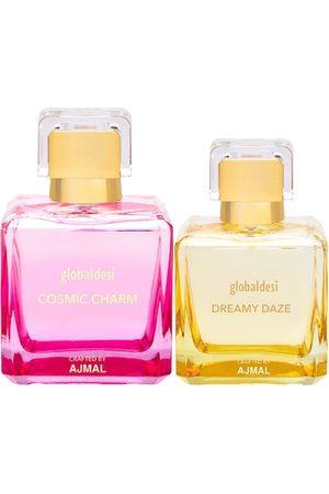 Global Desi Women Set Of 2 Cosmic Charm EDP & Dreamy Daze EDP Perfume Crafted By Ajmal