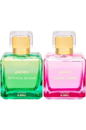 Global Desi Women Sets - Women Set Of 2 Mythical Bloom EDP & Cosmic Charm EDP Perfume Crafted By Ajmal