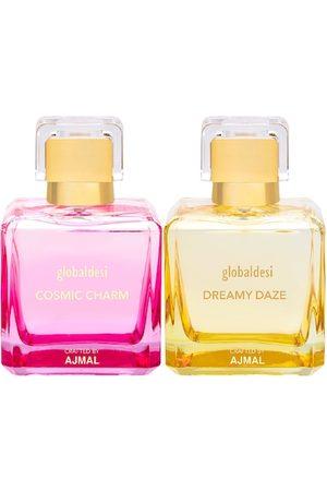 Global Desi Women Sets - Women Set Of 2 Cosmic Charm EDP & Dreamy Daze EDP Perfume Crafted By Ajmal
