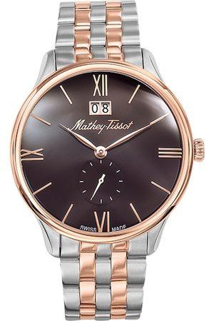 Mathey-Tissot Men Watches - Swiss Made Men Edmond Metal Brown Dial Watch H1886MRM