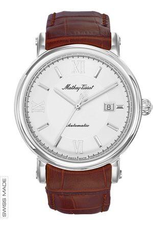 Mathey-Tissot Swiss Made Men Renaissance Automatic White Dial Watch H9030AI