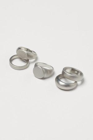 H&M Men Rings - 5-pack rings